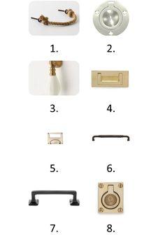 cabinet hardware....amazing resource!