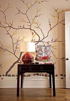 Stunning 30+ Awesome Wall Tree Decorating Ideas That Will Inspire You https://homegardenmagz.com/30-awesome-wall-tree-decorating-ideas-that-will-inspire-you/
