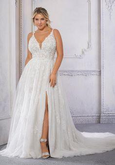 Plus Size Wedding Dresses: Julietta Collection | Morilee Wedding Dresses Plus Size, Plus Size Wedding, Bridal Wedding Dresses, Plus Size Dresses, Boho Wedding, Destination Wedding, Tulle Ball Gown, Ball Gown Dresses, Honeymoon Style