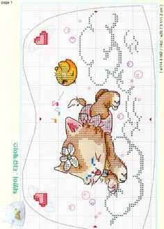 ru / Foto n º 13 - 45 - annachernega Baby Cross Stitch Patterns, Cross Stitch For Kids, Cross Stitch Boards, Cross Stitch Alphabet, Cross Stitch Baby, Cross Stitch Samplers, Cross Stitch Animals, Cross Stitching, Cross Stitch Embroidery