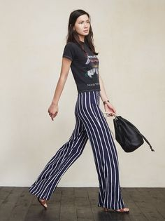 Oh hey there, you tall drink of water. The Testino Pant is just a really nice pair of bottoms that will have your lower half looking long and lovely. https://www.thereformation.com/products/testino-pant-monaco?utm_source=pinterest&utm_medium=organic&utm_campaign=PinterestOwnedPins