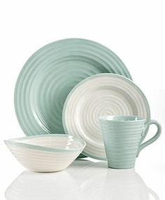 Portmeirion Dinnerware, Sophie Conran Carnivale & Celadon Collection