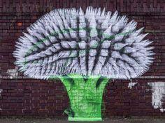 Ludo brings new pieces to the streets of London, UK (Part II) Street Art Love, Installation Art, Art Installations, French Street, London Street, Street Artists, Medium Art, Urban Art, Mind Blown