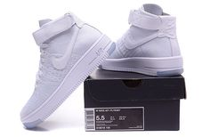 2024ea35671a NIKE AIR FORCE 1 FLYKNIT AF1 White Air Force Shoes
