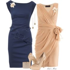 """Mothers of the Bride & Groom"" by lansmom1 on Polyvore"
