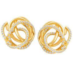 De Grisogono Matassa diamond earrings with 3.25 cts diamonds in 18k - http://designerjewelrygalleria.com/de-grisogono/de-grisogono-matassa-diamond-earrings-with-3-25-cts-diamonds-in-18k/