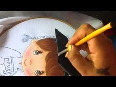 Pintura en tela niño Graduacion # 2 con cony