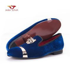 96.53  Watch here - New fashion men party and wedding handmade loafers men  velvet shoes bb5c03f80b8e