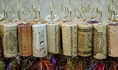 Wine Cork Ornamnts by Helminiakvisions on Etsy, $6.00