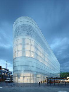 Kulturbau 'Forum Confluentes' Koblenz | Photo: Thomas Eicken | Benthem Crouwel Architects | Archinect