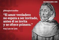 Grandes frases de Fray Luis de León - culturizando.com | Alimenta tu Mente