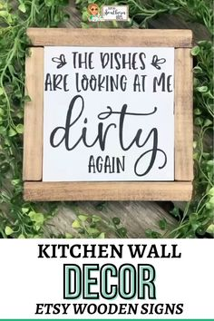 Kitchen Sign Diy, Funny Kitchen Signs, Funny Wood Signs, Wood Signs Sayings, Kitchen Humor, Diy Wood Signs, Kitchen Wall Art, Sign Quotes, Funny Kitchen Quotes