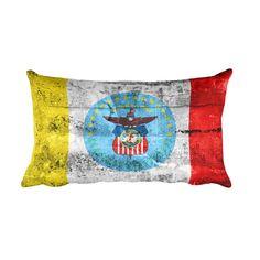 Columbus Ohio Flag Pillow