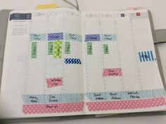 A lovely blog post about how she uses her Hobonichi. Good use pictured here of the vertical weekly spreads. - DD