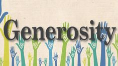 Generosity & Giving - St. Paul's United Church of Christ