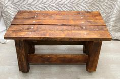 Reclaimed Wood Coffee Table in Brooklyn, NY, USA ~ Krrb