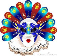 Carnival Mask Vector illustration