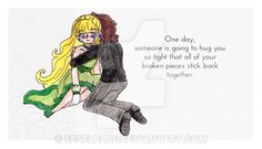 One day... by SeselBlue.deviantart.com on @DeviantArt