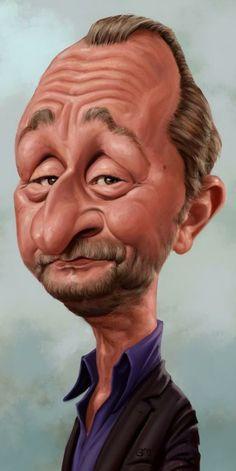 Funny Caricatures, Celebrity Caricatures, Portraits, Portrait Art, Munier, Hulk Art, Caricature Drawing, Movie Magazine, Got The Look