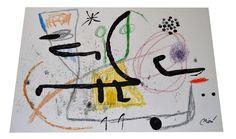 Joan Miro Maravillas con Variaciones Acrósticas en el Jardín de Miró 1975 by Lunasvintage on Etsy