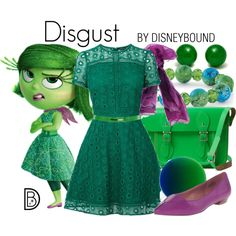 Disgust by leslieakay on Polyvore featuring Warehouse, Nine West, The Cambridge…