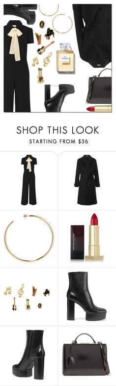 """Pack for NYFW"" by danielle-487 ❤ liked on Polyvore featuring RED Valentino, Bottega Veneta, Jennifer Fisher, Kevyn Aucoin, Dolce&Gabbana, Alexander Wang, Mark Cross and NYFW"