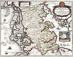 1662 map of Jordsand, Denmark Denmark Map, Relic Hunter, Old Maps, Us Map, Historical Maps, Historian, Art Reproductions, Vintage Prints, Vintage World Maps