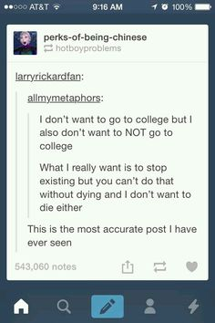 I'm in college and this is how I feel most of the time