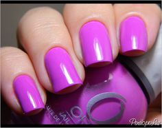 Orly nail polish in the color, Frolic. :)
