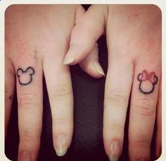Disney tattoos ♥