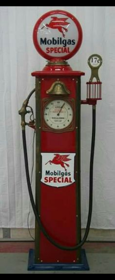 Restored Bowser Clock Faced Gas Pump