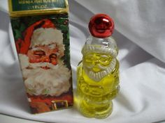 Vintage Avon Christmas Jolly Santa  Yup, I remember having this in my stocking for Christmas one year!