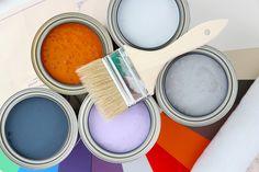 El uso de la pintura para actualizar una habitación - http://www.decoora.com/el-uso-de-la-pintura-para-actualizar-una-habitacion/