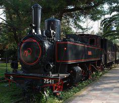 Δημοτικό Πάρκο Σιδηροδρόμων στην Καλαμάτα Trains, City, Cities, Train