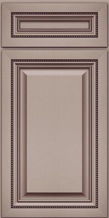 Merillat Masterpiece Cabinetry-Alina Maple Pebble Grey with Cocoa Glaze from waybuild