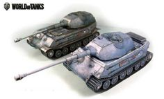 World of Tanks - VK 45.02 (P) Ausf. A and Ausf. B Heavy Tank Paper Model Free Download