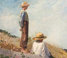 Winslow Homer Fine Art Print :  The Blue Boy