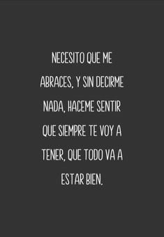 Todo va a estar bien. Sarcastic Quotes, Sad Quotes, Best Quotes, Motivational Quotes, Life Quotes, Inspirational Quotes, Happy Love, Sad Love, Love You