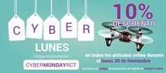 Descuentos todo el lunes para celebrar el #cybermonday