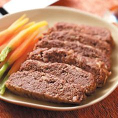 Apple Meat Loaf    Apples give this meat loaf a sweet, unexpected flavor.