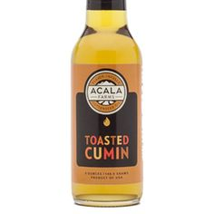 Toasted Cumin Cottonseed Oil has a rich toasted cumin flavor. The toasted cumin cotton oil is earthy, nutty & spicy. GF, zero cholesterol, pesticide free.