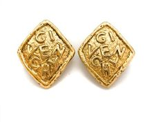 Givenchy Vintage Clip On Earrings Designer Jewelry, Jewelry Design, Vintage Clip, Vintage Jewellery, Clip On Earrings, Vintage Designs, Givenchy, Im Not Perfect, Cufflinks