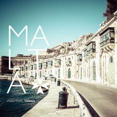 Waterfront, Valletta │ #VisitMalta visitmalta.com