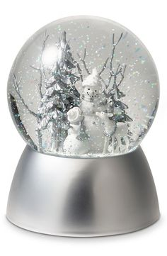Nordstrom Winter Snow Globe Christmas Thoughts, Christmas Mood, Xmas, Musical Snow Globes, I Love Snow, Christmas Snow Globes, Water Globes, Snow And Ice, Snowball