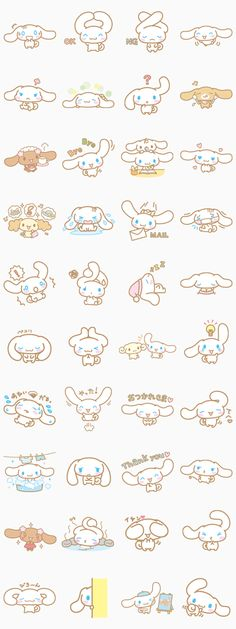 Sanrio's soft & fluffy character, Cinnamoroll is here on LINE! Trust Cinnamoroll's cute & innocent expressions to make you even closer to that special someone.