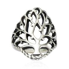 Chuvora 925 Sterling Silver 26 mm Detailed Large Celtic Tree of Life Band Ring - Nickel Free ( Available in Size 7,8,9 ) Chuvora. $20.99. Packaging: Black Velvet Pouch. Width : 26 mm. Approximately weigh : 5.7 gram. High Quality .925 Sterling Silver