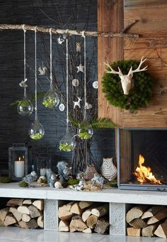 57 DIY Christmas decorations that you can easily make . Diy Christmas Ornaments, Diy Christmas Gifts, Christmas Home, Christmas Decorations, Diy Weihnachten, Christmas Inspiration, Mobiles, Imagination, Architecture Design