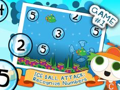 Mermaid Waters HD: A Story-based Preschool Math Game ($0.00) ★ 10 mini-games based on early math concepts: number recognition, counting, sizes, addition, shapes, sequence, positions, memory of pairs. ★ Content optimized for children of 4 & 5 years old. Suitable for 2-6 years.