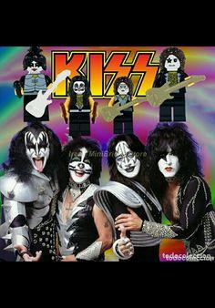 Kiss Pictures, Kiss Band, Abandoned, Lego, Comic Books, Rock, Comics, Music, Anime