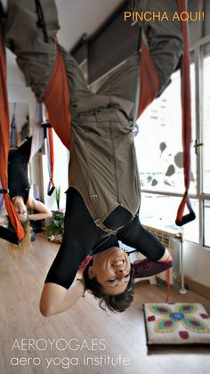 Air Yoga (yoga y pIlates como en 'Gravedad 0') Clases en Madrid, Baleares, Mallorca by yogacreativo, via Flickr      Fly  aerial inspiration for aerial yoga-pilates-fitness-art therapy-coaching (aeroyoga/aeropilates/conceptual fitness) www.aerialyoga.tv